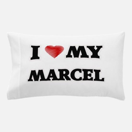 I love my Marcel Pillow Case
