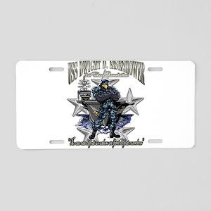 USS Dwight D. Eisenhower (C Aluminum License Plate