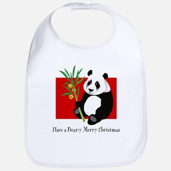 Bear-y Merry Christmas Bib