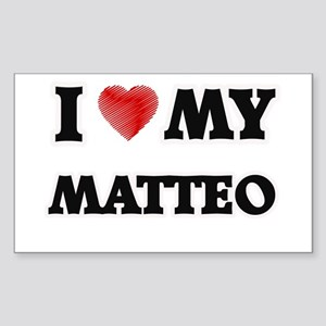 I love my Matteo Sticker