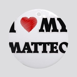 I love my Matteo Round Ornament