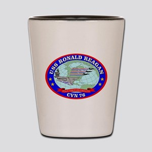 USS Ronald Reagan (CVN-76) Shot Glass