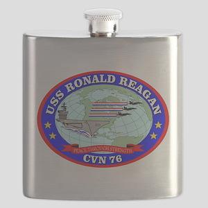 USS Ronald Reagan (CVN-76) Flask