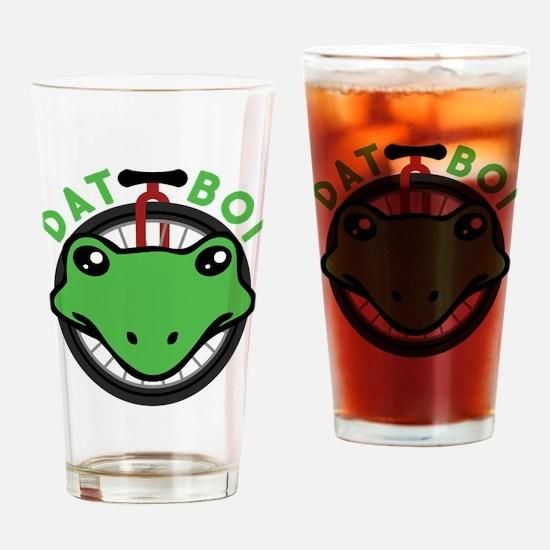 Dat Boi Frog Retro Drinking Glass