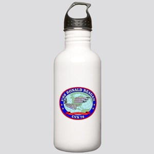 USS Ronald Reagan (CVN Stainless Water Bottle 1.0L