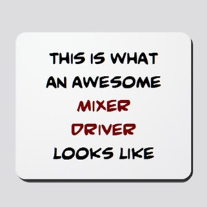 awesome mixer driver Mousepad