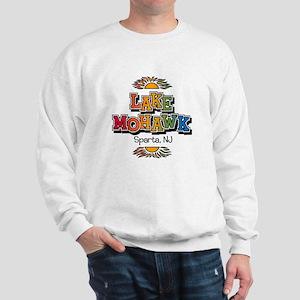 Lake Mohawk Retro Rainbow Sweatshirt