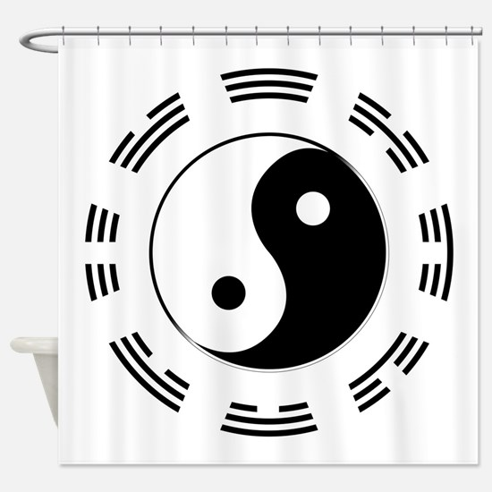 I Ching Shower Curtain