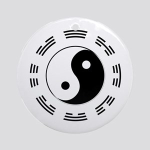 I Ching Round Ornament