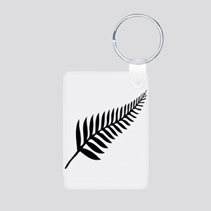Silver Fern of New Zealand Keychains