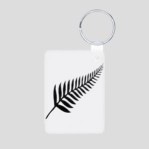 Silver Fern of New Zealand Keychains
