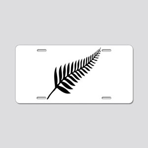 Silver Fern of New Zealand Aluminum License Plate