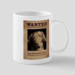 The Vivacious Vizsla Mugs