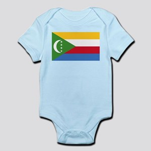 Flag of Comoros Body Suit