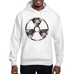 Floral Radioactive Symbol Hoodie