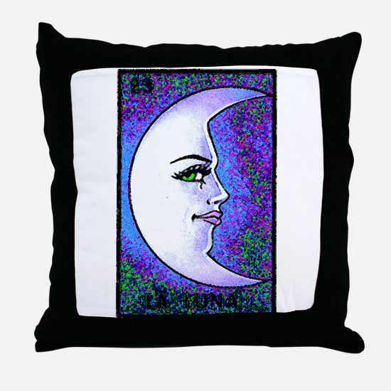 La Luna Throw Pillow