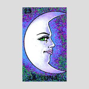 La Luna Rectangle Sticker