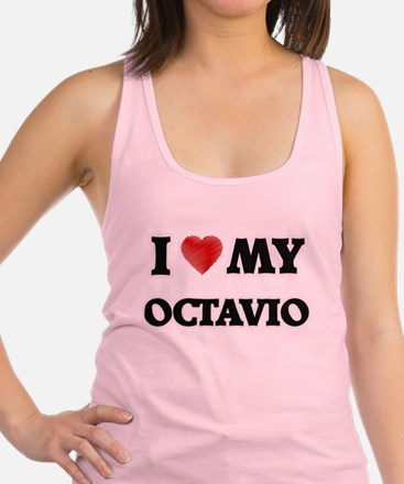 I love my Octavio Racerback Tank Top