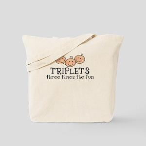 Triplets 3X's The Fun Tote Bag