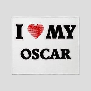 I love my Oscar Throw Blanket