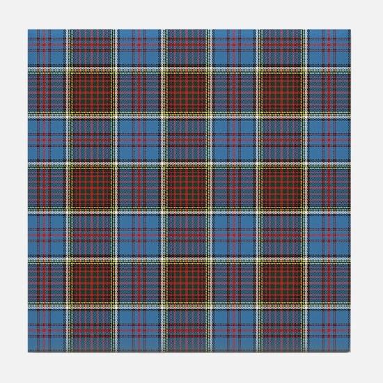 Cute Scottish highlander Tile Coaster