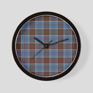 Anderson Tartan Wall Clock