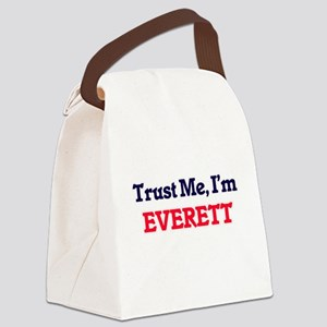 Trust Me, I'm Everett Canvas Lunch Bag