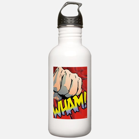 Wham Red Water Bottle