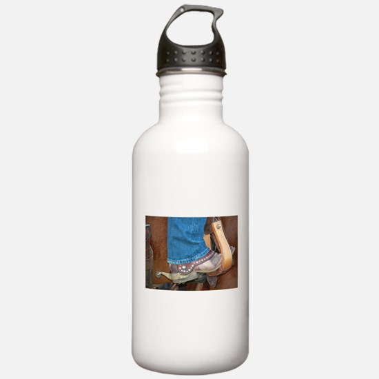 boot and spur Water Bottle