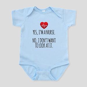 Yes I'm a Nurse Body Suit