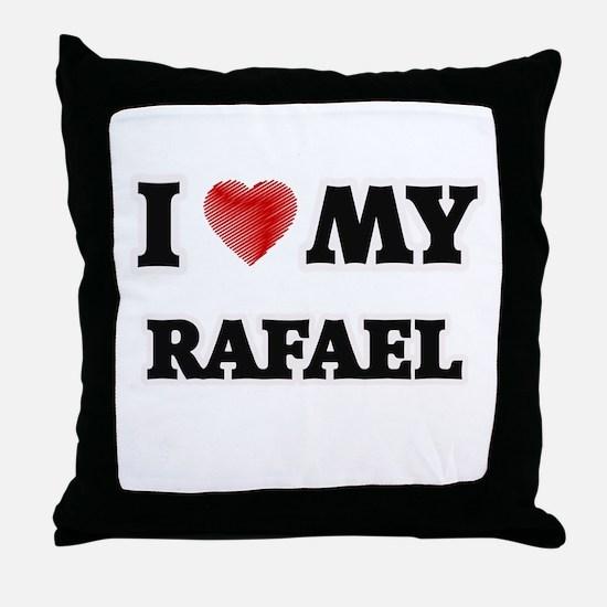 I love my Rafael Throw Pillow