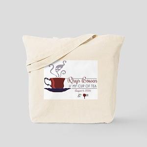 Rhys Bowen Is My Cup Of Tea Tote Bag