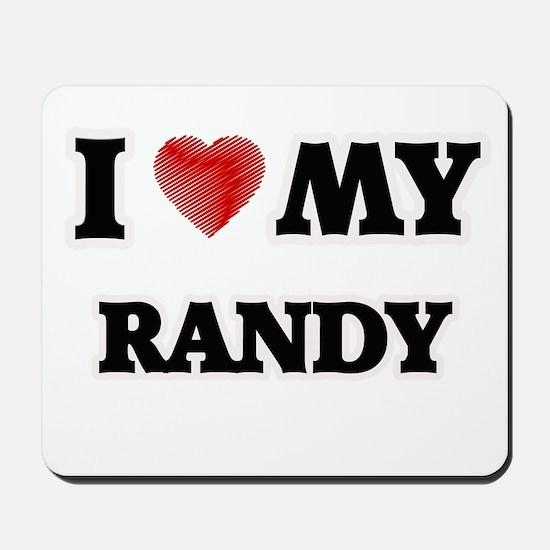 I love my Randy Mousepad