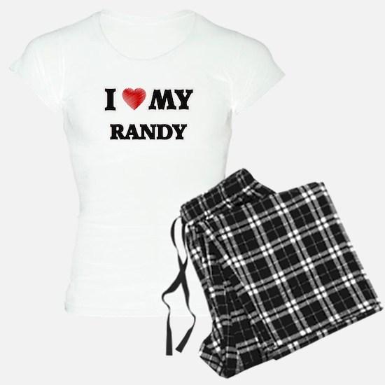 I love my Randy Pajamas