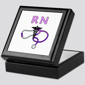 RN Nurse Medical Keepsake Box