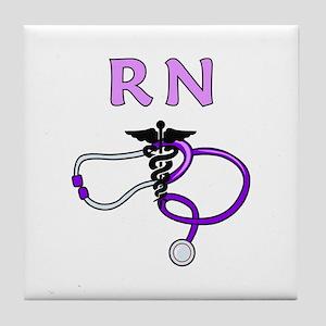 Rn Nurse Medical Tile Coaster