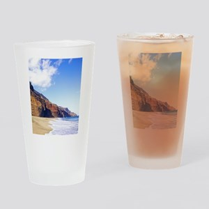Kalalau Beach Kauai Hawaii Drinking Glass