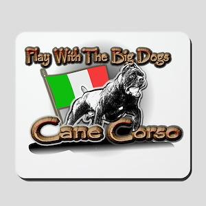 Play Cane Corso Mousepad