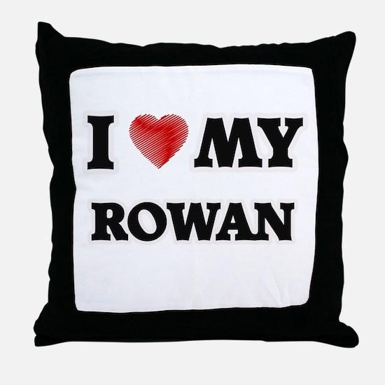 I love my Rowan Throw Pillow