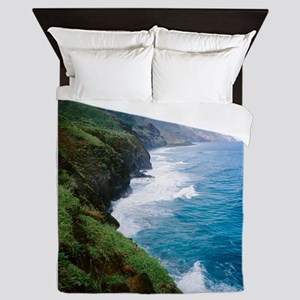 Na Pali Coast Queen Duvet