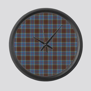 Anderson Tartan Large Wall Clock