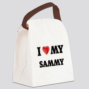 I love my Sammy Canvas Lunch Bag
