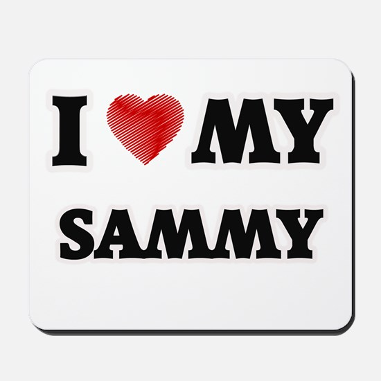 I love my Sammy Mousepad