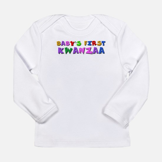 Baby's first Kwanzaa Long Sleeve T-Shirt