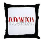 Indonesia Throw Pillow