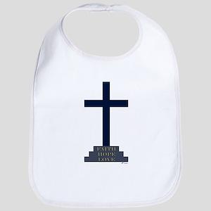 Calvary Cross Bib