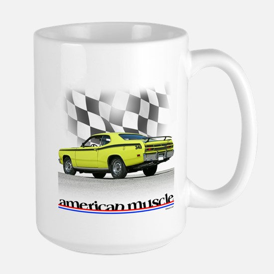 Duster Muscle Large Mug