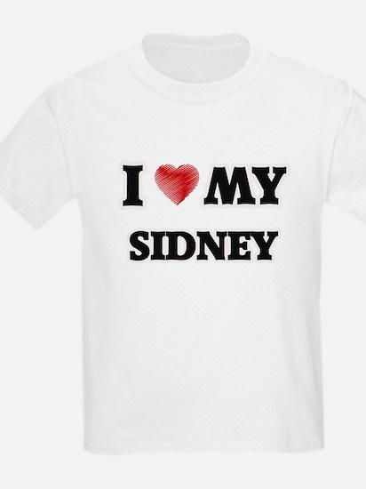 I love my Sidney T-Shirt