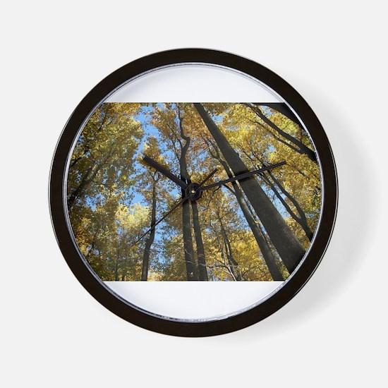 Shenandoah National Park during Fall Wall Clock