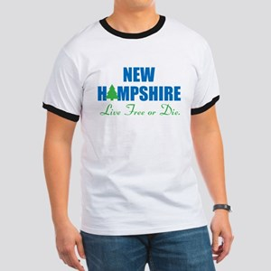 NEW HAMPSHIRE - LIVE FREE OR DIE Ringer T